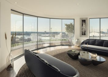 Thumbnail 3 bed flat for sale in Tidal Basin Road, London