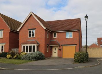Thumbnail 4 bed detached house for sale in Hawking Close, Colsterworth, Grantham