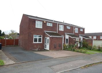 Thumbnail 3 bed end terrace house to rent in Hill Street, Burntwood