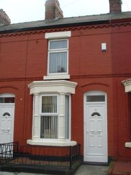 Thumbnail 2 bedroom terraced house to rent in Bartlett Street, Wavertree, Liverpool 15