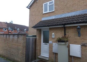 Thumbnail 1 bed end terrace house to rent in Coxmoor Close, Church Crookham, Fleet