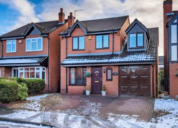 Thumbnail 4 bed detached house for sale in Sandy Croft, Newport
