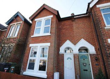 Thumbnail 3 bed terraced house for sale in Barton Road, Fair Oak, Eastleigh