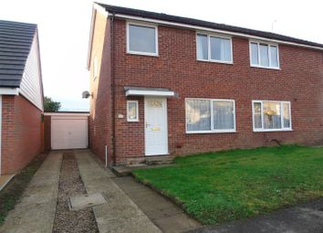 Thumbnail 3 bed semi-detached house for sale in Clover Close, Needham Market, Ipswich