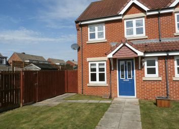 Thumbnail 3 bedroom end terrace house to rent in Beachcroft, Hadston, Morpeth