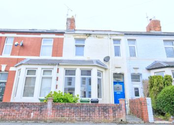 Thumbnail 2 bedroom terraced house for sale in Nottingham Street, Canton, Cardiff