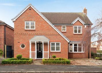Thumbnail 4 bedroom detached house for sale in Herdwick Close, Clifton Moor, York