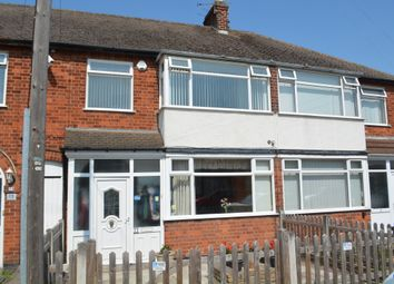 Thumbnail 3 bed town house for sale in Shropshire Road, Aylestone, Leicester