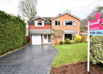 Thumbnail 5 bed detached house for sale in Glynswood, Camberley, Surrey
