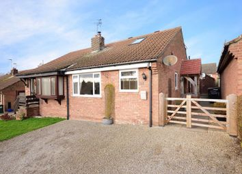 Thumbnail 3 bed semi-detached bungalow for sale in Fairfax Close, Ampleforth, York
