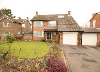 Thumbnail 4 bed detached house for sale in Nursery Gardens, Purley On Thames, Reading
