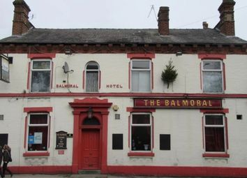 Thumbnail Commercial property for sale in The Balmoral Hotel, Atherton Road, Hindley, Wigan, Lancashire