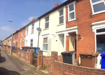 Thumbnail 3 bed terraced house to rent in Rosebery Road, Ipswich