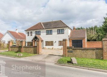 Thumbnail 5 bed detached house for sale in Epping Road, Roydon, Essex