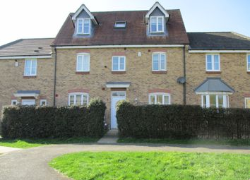 Thumbnail 5 bed town house for sale in Rose Close, Corby
