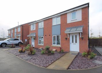 Thumbnail 3 bedroom semi-detached house for sale in Miller Close, Palmersville, Newcastle Upon Tyne