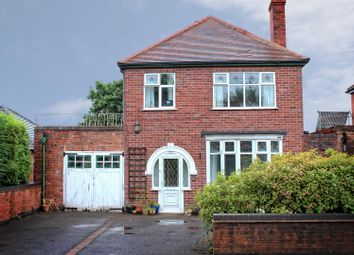 Thumbnail 3 bed detached house for sale in Overseal, Derbyshire