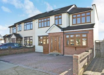 Thumbnail 4 bed semi-detached house for sale in Devonshire Road, Hornchurch, Essex