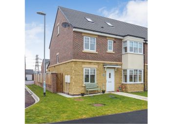 Thumbnail 5 bedroom end terrace house for sale in Klondyke Walk, Blaydon-On-Tyne