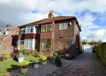 Thumbnail 3 bed semi-detached house for sale in Andrew Lane, High Lane, Stockport, Greater Manchester