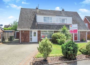 Thumbnail 3 bedroom semi-detached house for sale in Nun House Drive, Winsford