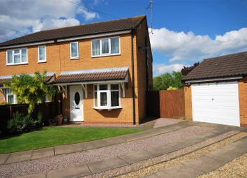 Thumbnail 2 bed semi-detached house for sale in Spruce Close, Holbeach, Spalding