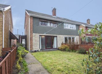 Thumbnail 3 bed semi-detached house for sale in Overdale Walk, Croespenmaen, Crumlin, Newport