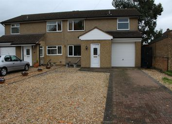 Thumbnail 3 bedroom semi-detached house for sale in Furzenhall Road, Biggleswade, Bedfordshire