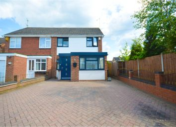 Thumbnail 4 bed semi-detached house for sale in Radnor Drive, Nuneaton