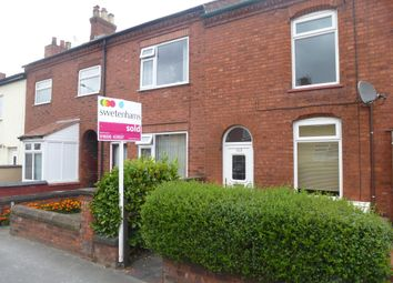Thumbnail 2 bed terraced house to rent in Middlewich Road, Rudheath, Northwich