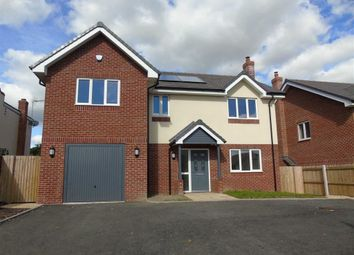 Thumbnail 4 bed detached house for sale in Plot 3, Middletown View, Bank Villa, Shrewsbury, Shropshire