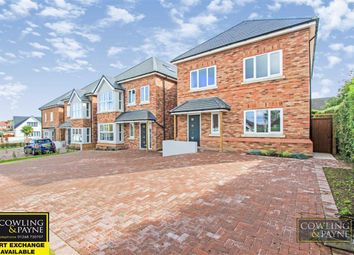 Thumbnail 4 bed detached house for sale in Down Hall Road, Rayleigh, Essex