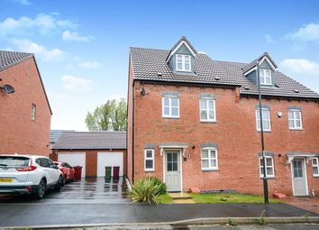 Thumbnail 4 bed semi-detached house to rent in Burton Street, Wingerworth, Chesterfield
