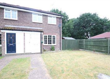 Thumbnail 3 bed end terrace house for sale in Scotland Close, Ash Vale, Aldershot, Hampshire
