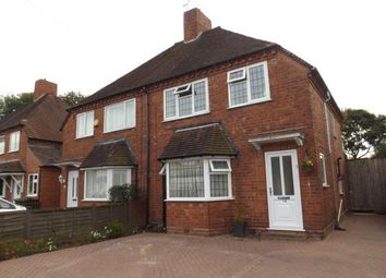 Thumbnail 3 bedroom semi-detached house for sale in Cranmore Road, Shirley, Solihull, West Midlands