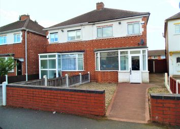 Thumbnail 3 bed semi-detached house to rent in Delhurst Road, Great Barr