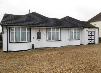 Thumbnail 3 bedroom detached bungalow for sale in Regent Street, Stotfold, Herts