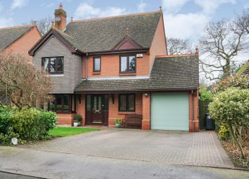 Thumbnail 4 bed detached house for sale in Morville Close, Solihull