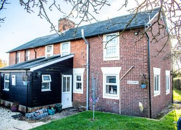 Thumbnail 3 bed semi-detached house for sale in Stambourne, Halstead, Essex