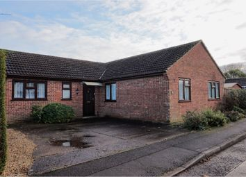 Thumbnail 3 bed detached bungalow for sale in St. Marks Road, Gorefield