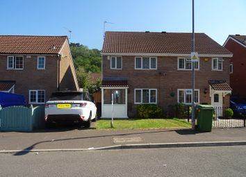Thumbnail 3 bed semi-detached house to rent in Lauriston Park, Caerau, Cardiff.