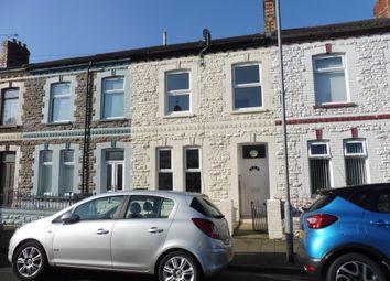 Thumbnail 3 bed terraced house for sale in Marion Street, Splott, Cardiff