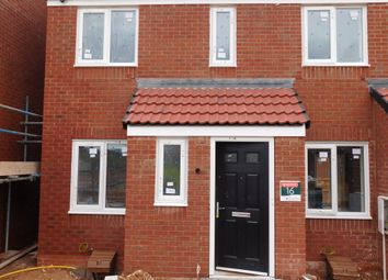 Thumbnail 2 bed town house to rent in Nightingale Close, Clipstone Village, Mansfield
