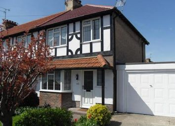 Thumbnail 3 bedroom end terrace house to rent in Sompting Road, Broadwater, Worthing