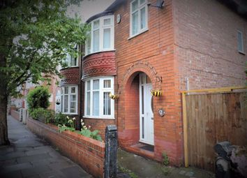 Thumbnail 3 bed semi-detached house for sale in Lincoln Avenue, Levenshulme, Manchester