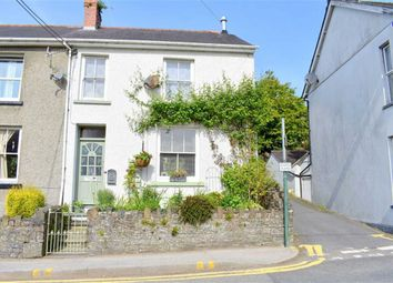 Thumbnail 2 bed end terrace house for sale in Porth Terrace, Llandysul, Carmarthenshire