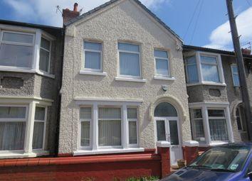 Thumbnail 3 bed terraced house for sale in Kenwyn Road, Wallasey