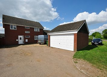 Thumbnail 4 bed detached house for sale in Shelfanger Road, Roydon, Diss