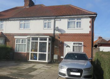 Thumbnail 5 bed semi-detached house for sale in Granville Avenue, Oadby, Leicester