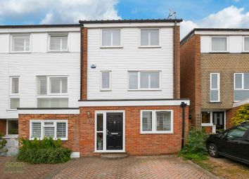 Thumbnail 3 bed end terrace house for sale in Church Close, Loughton